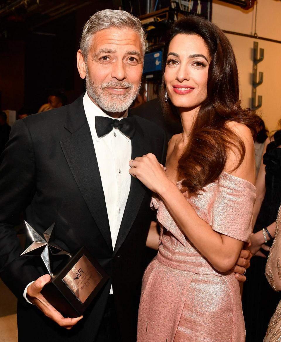Джордж та Амаль Клуні пожертвували 100 тисяч доларів на благодійні організації