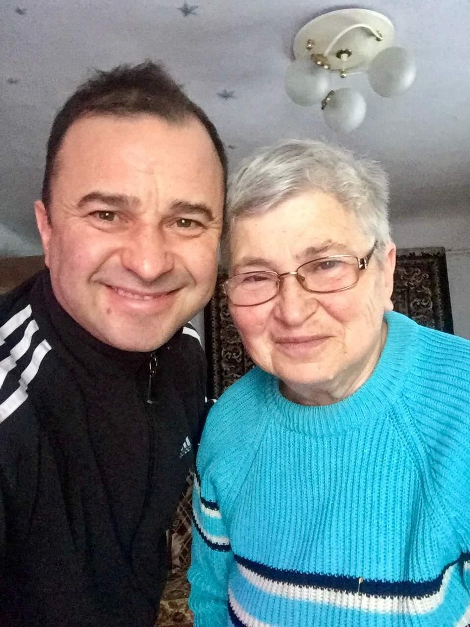 Віктор Павлік з мамою