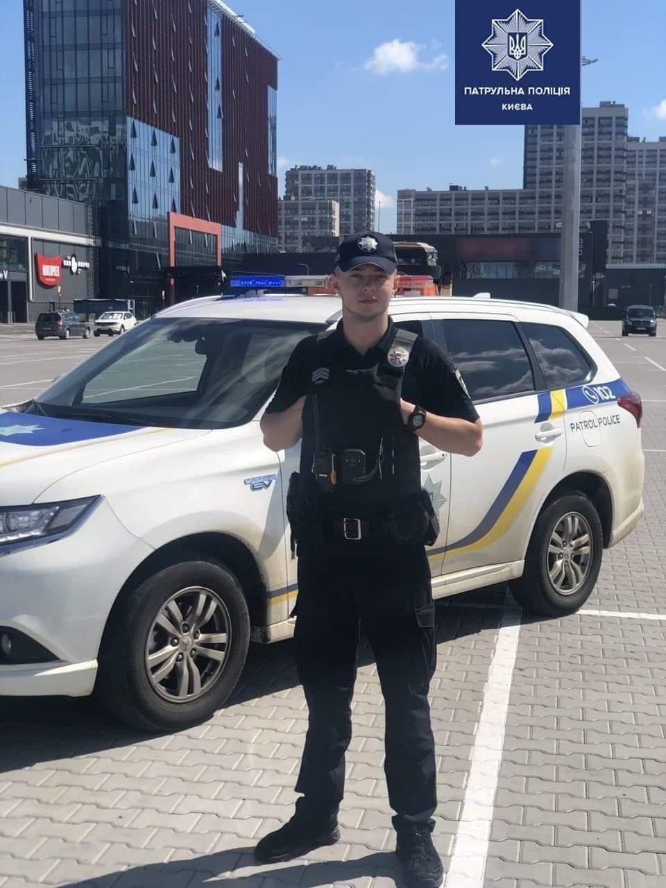 поліцейський, який врятував дитину від самогубства