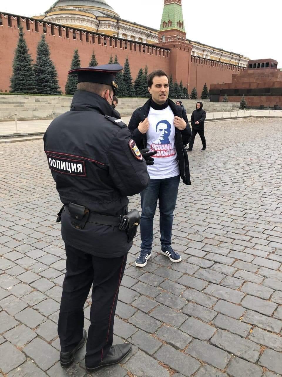 Затримання у Москві у день виборів