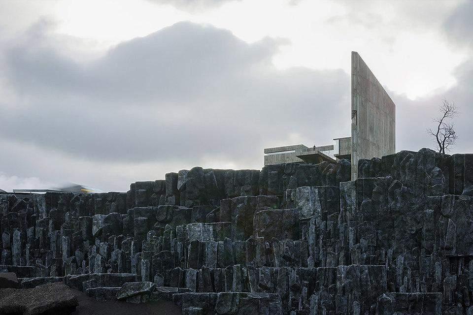 Будинок став частиною скелястого ландшафту / Фото Beautifullife