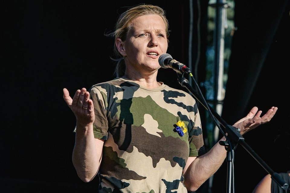 Юлія Лапутіна міністр у справах ветеранів фото біографія