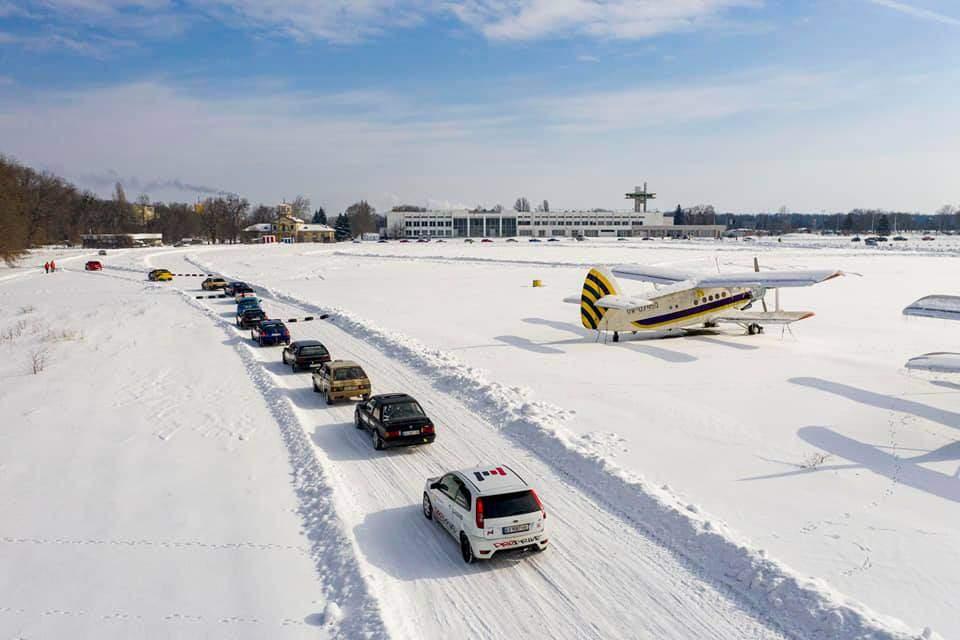 перегони по снігу в черкасах