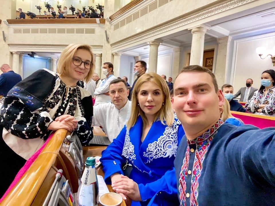 Інна Совсун Кіра Рудик