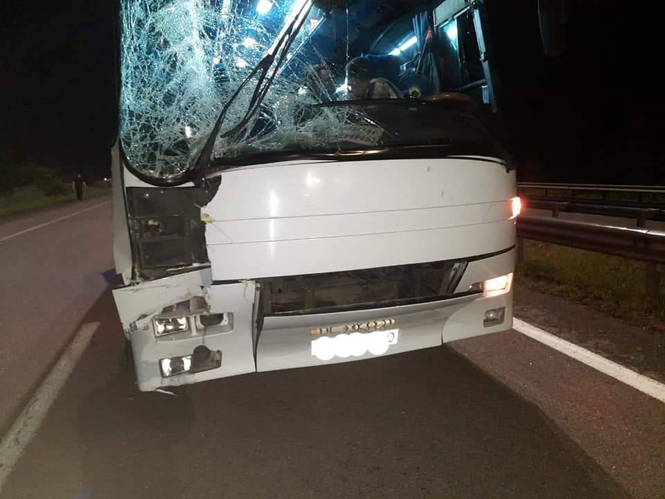 Перекинувся автобус Львів'яни Їхали з Києва 28 липня 2021