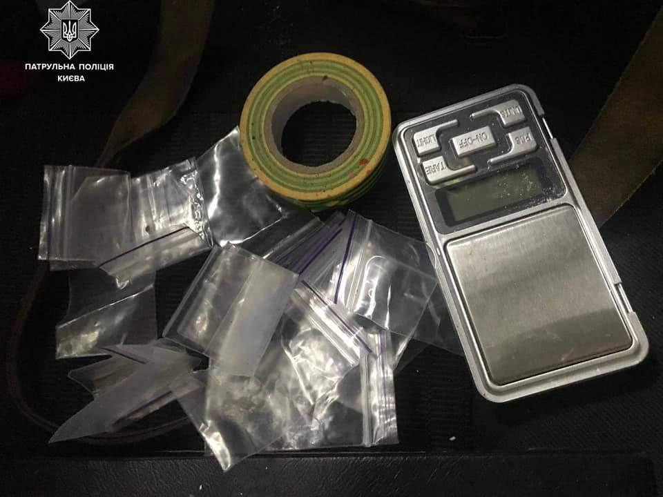 Київ, поліція затримала продавця наркотиків