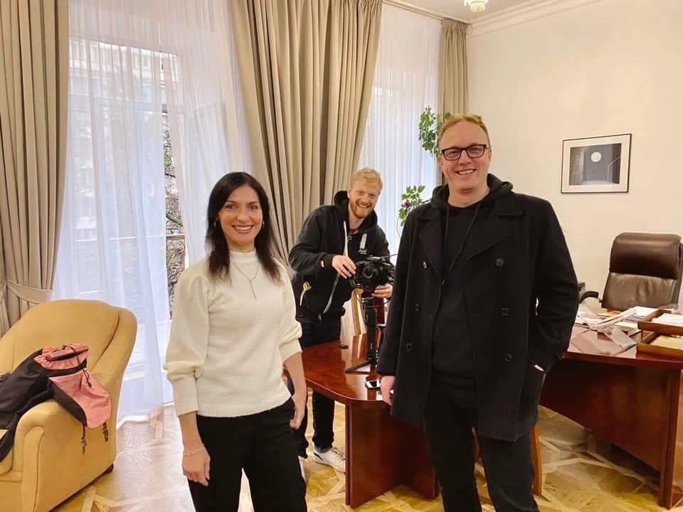 Артур Генрі Бітс зніме кліп про Київ із Катериною Павленко, Go_A