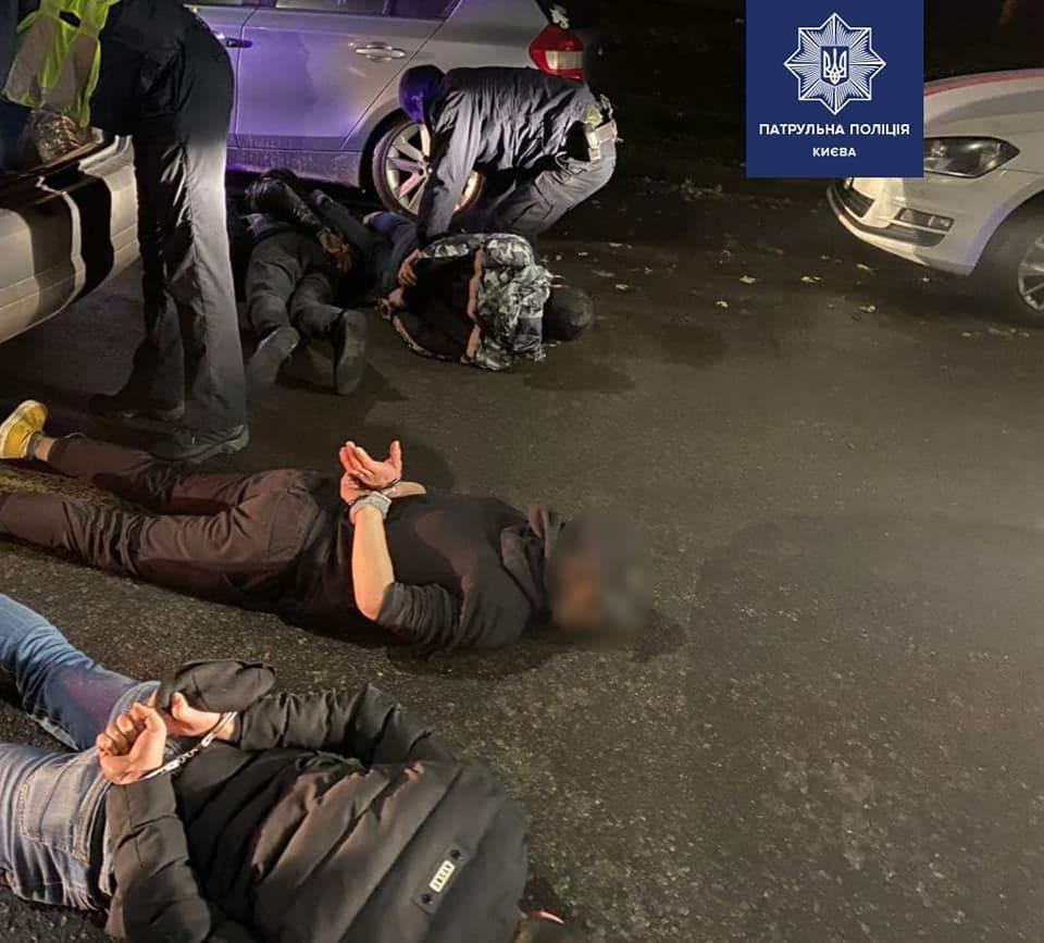 затримання грабіжників у Києві