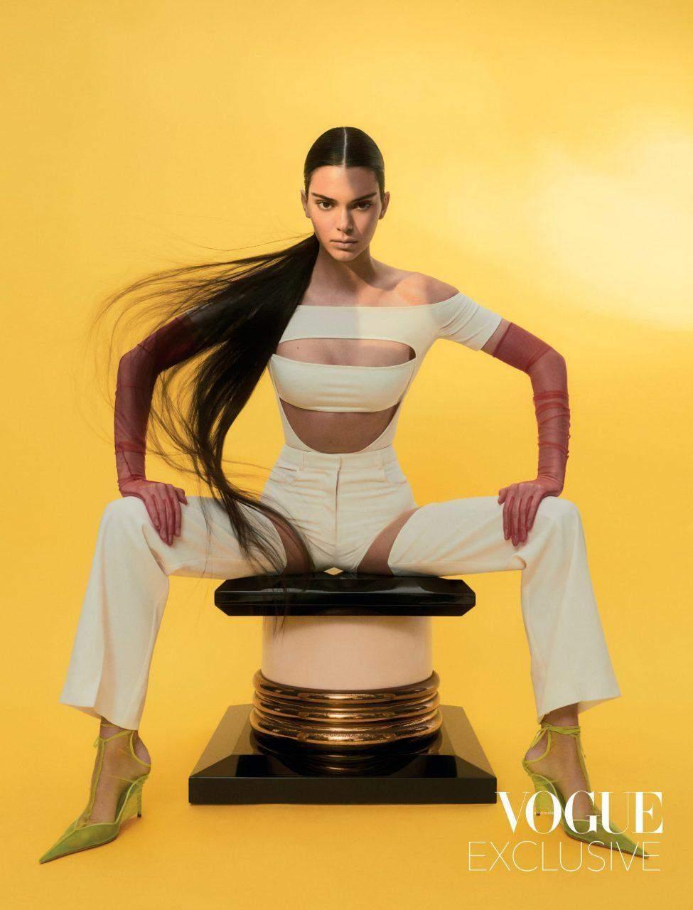 Кендалл Дженнер знялася у фотосесії для Vogue Hong Kong