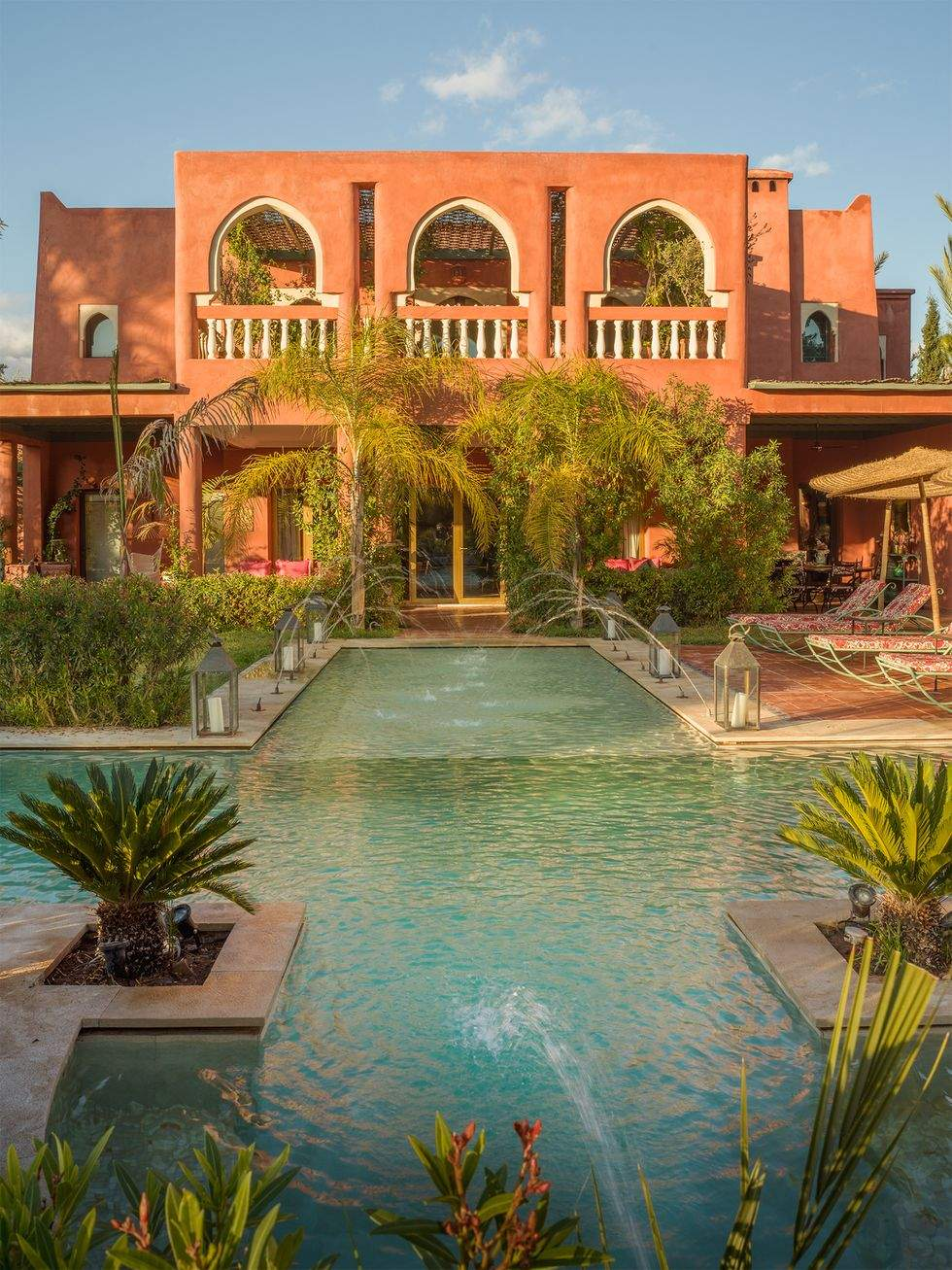 Кораловий будинок, Марокко
