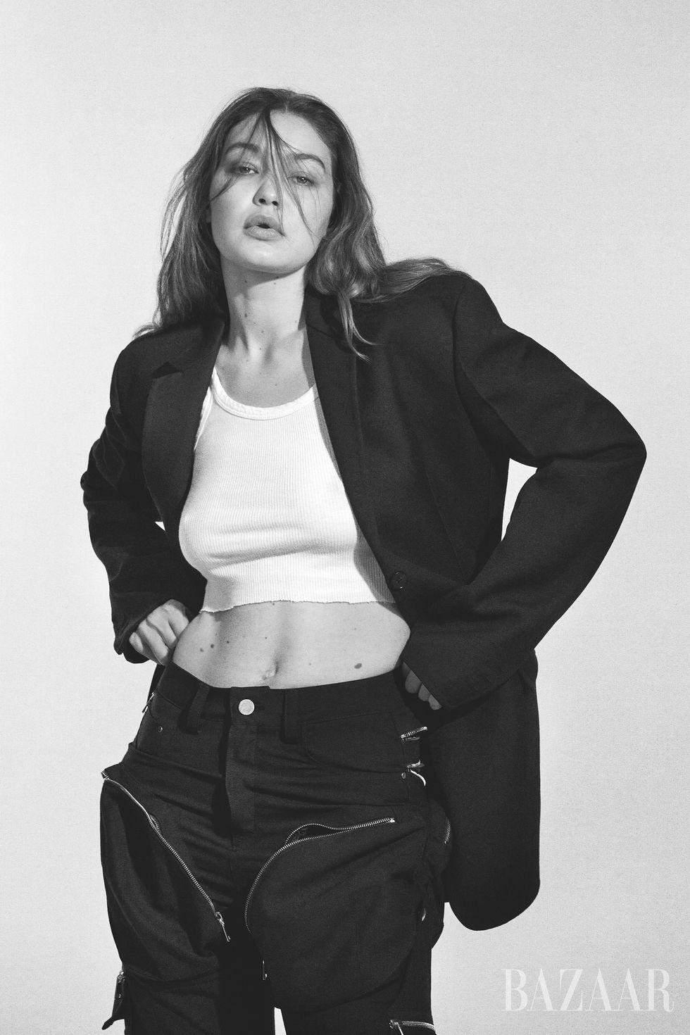 Фотосесія Джіджі Хадід для Harper's Bazaar