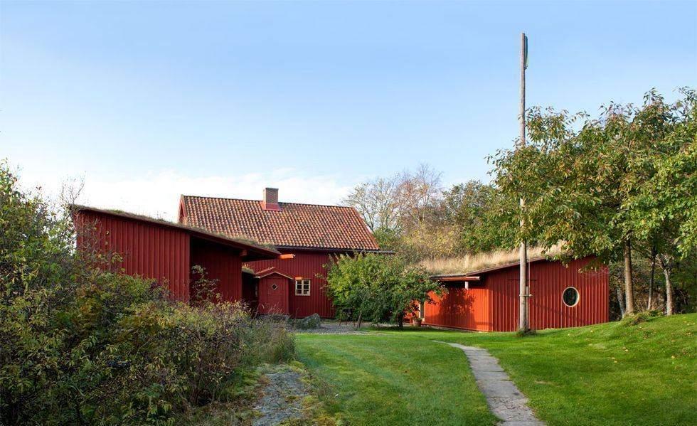 Котедж 17-го століття, Швеція
