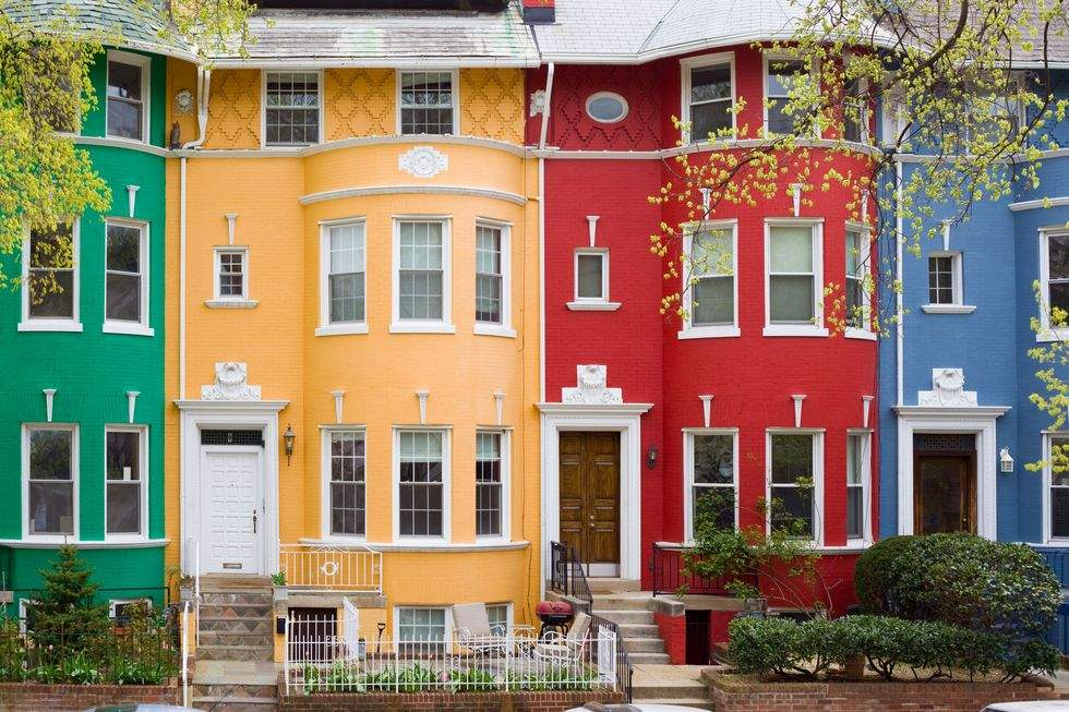 Яскраві будинки у Вашингтоні