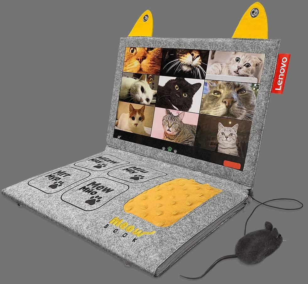 Ноутбук для котів