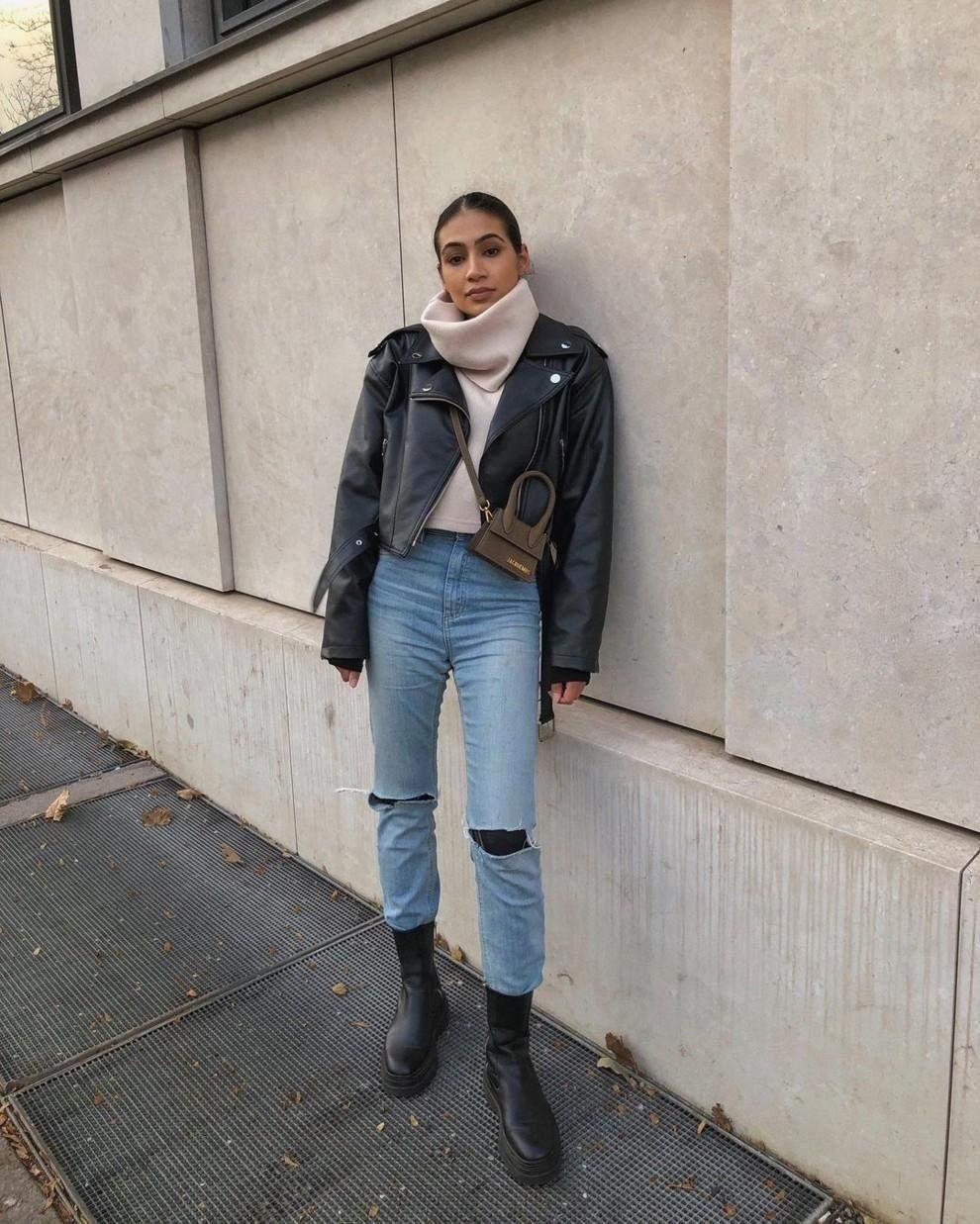Як носити светр під горло