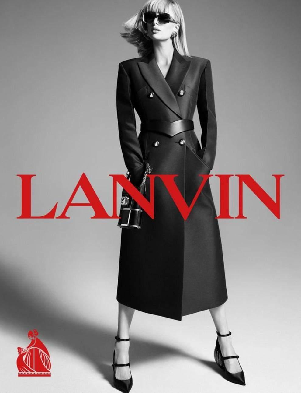 Періс Гілтон знялася у рекламі Lanvin / Vogue