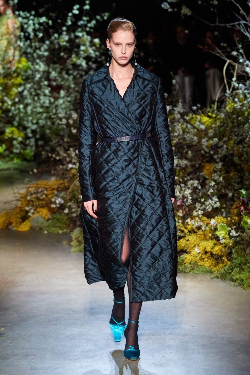 Стьобане пальто - тренд 2020 року