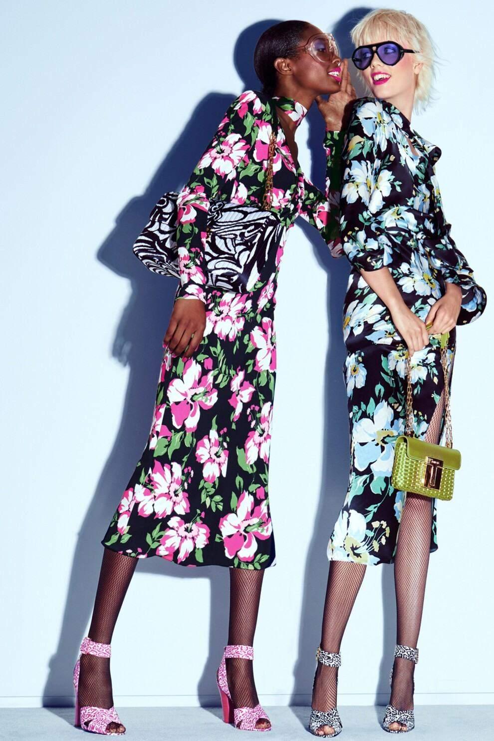 Трендові квіткові сукні цього сезону