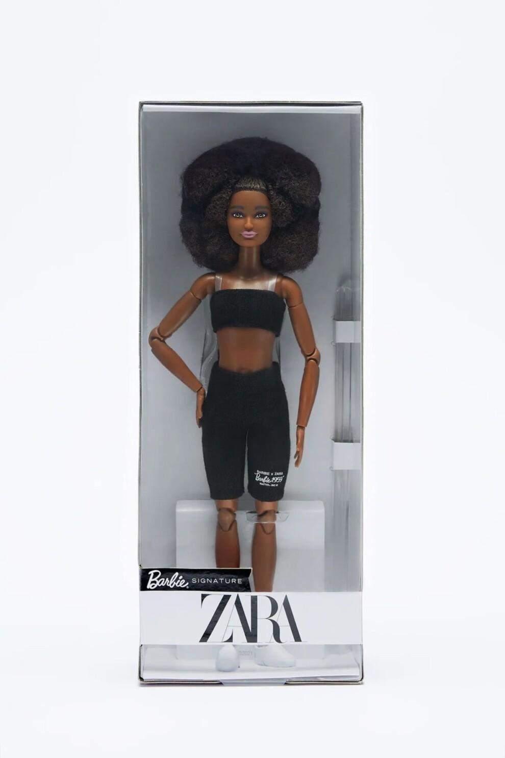 Zara випустила лімітовану колекцію ляльок Barbie