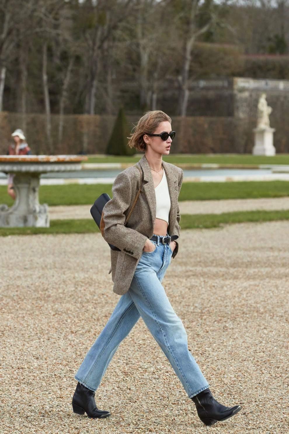 Актуальні джинси осені / Фото Vogue