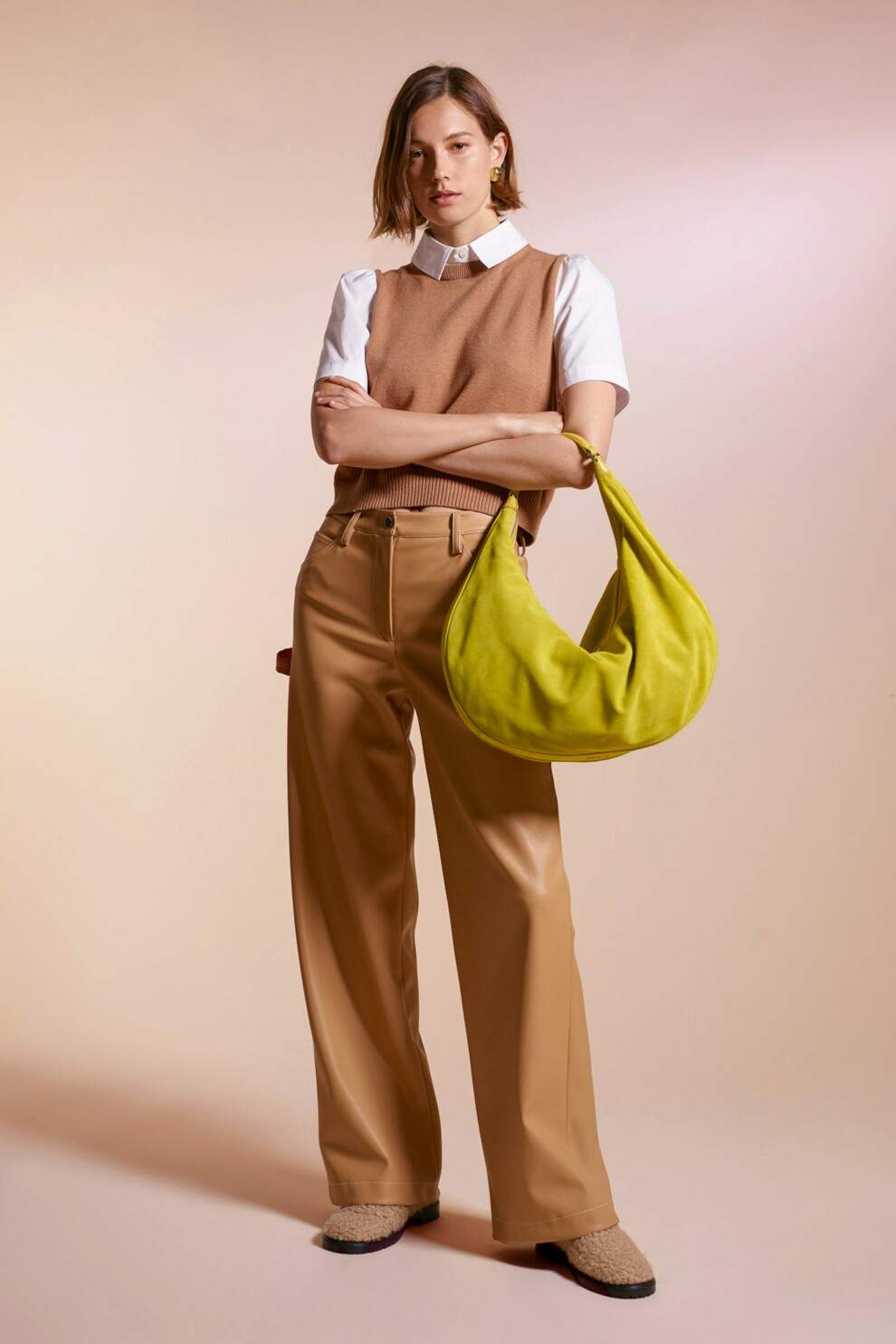 Шкіряні штани – тренд осені 2021