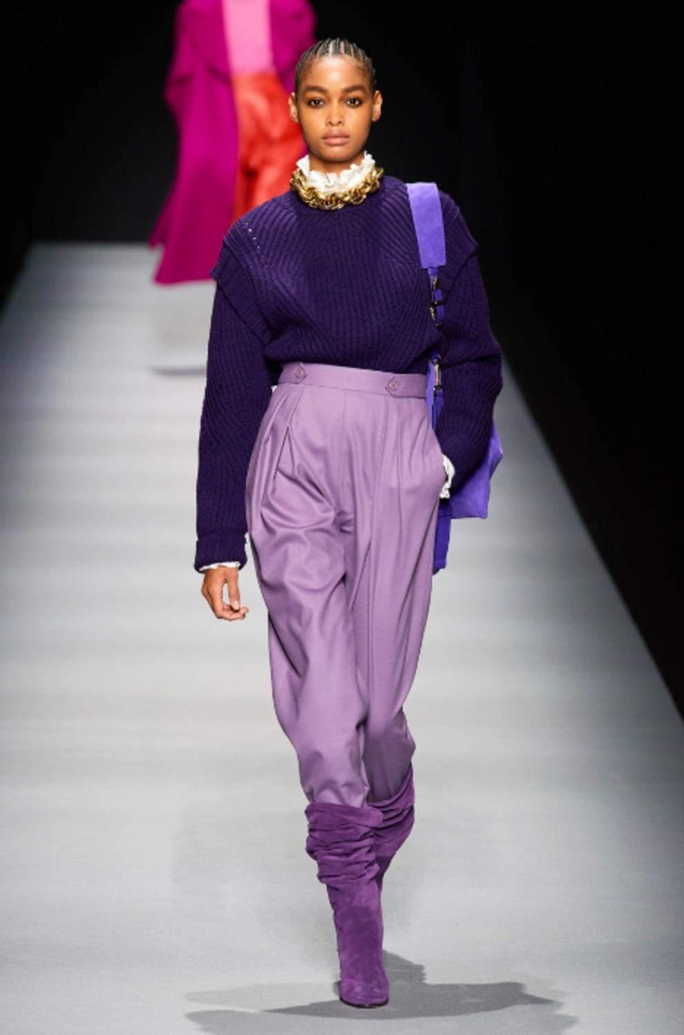 Фіолетовий – наймодніший колір зими