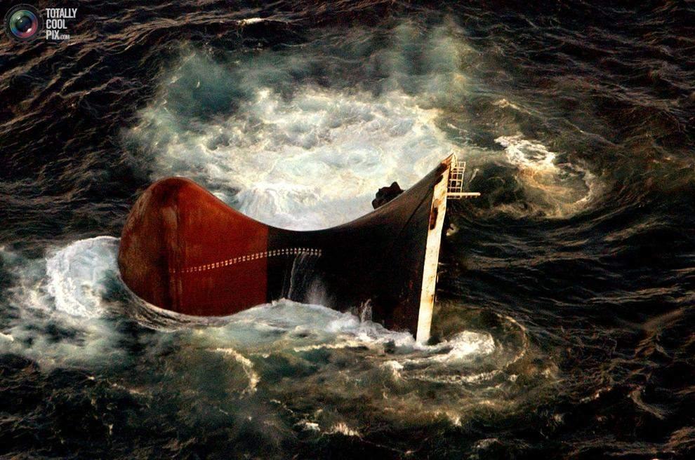 затоплення танкера