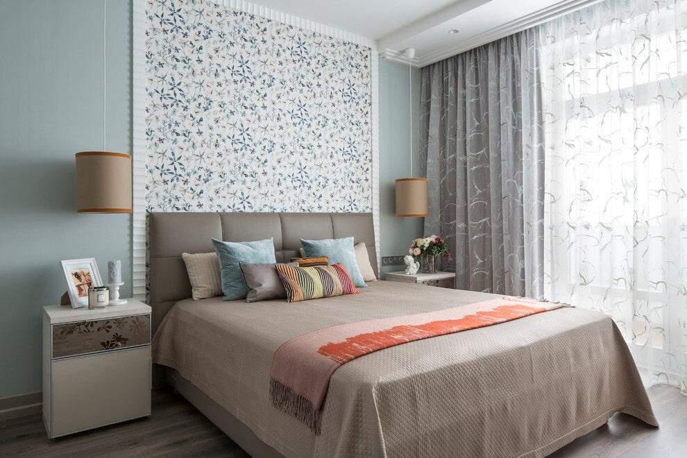 Стіна, що виділяє спальну зону